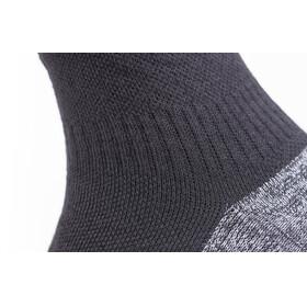 Sealskinz Soft Touch Ankle Length Socks Black/Grey/White